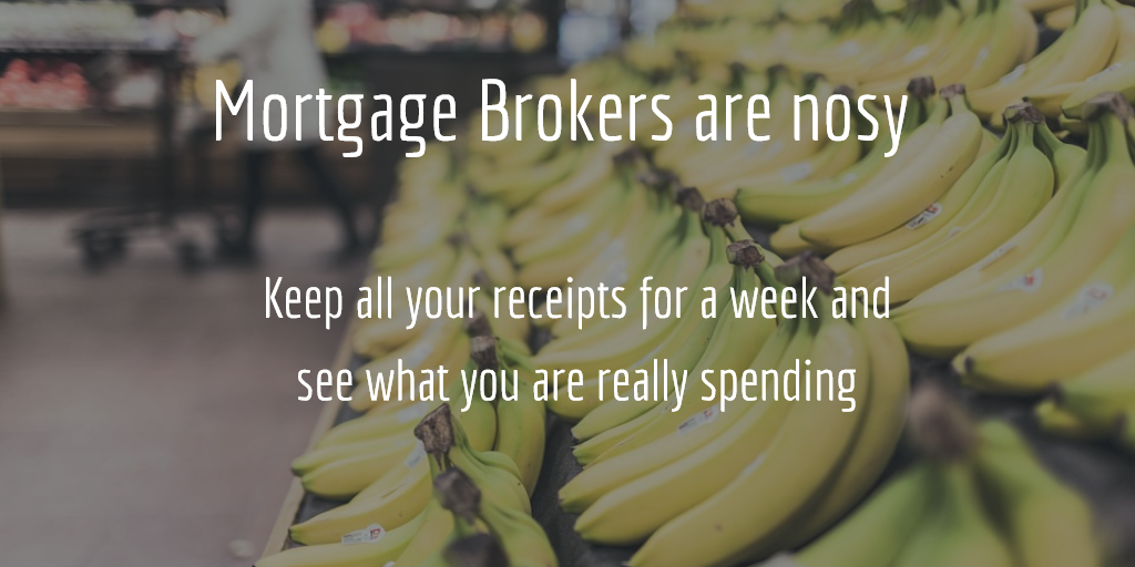 mortgage brokers are nosy