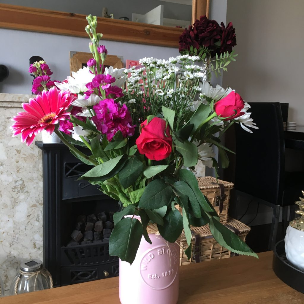 flowers in a house for sale