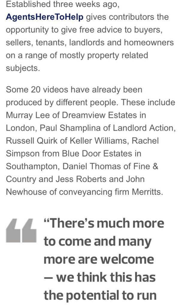 Rachel Simpson BlueDoor Estate agents Agentsheretohelp